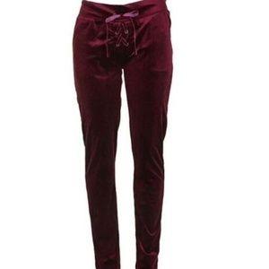 Material Girl Velour Lounge Pants-XS